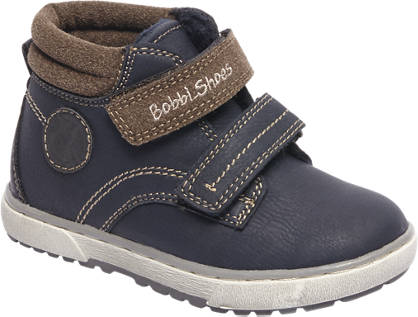 Bobbi-Shoes Blauwe boot klittenband