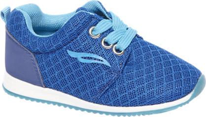 Bobbi-Shoes Blauwe sneaker lightweight
