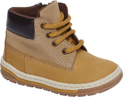 Bobbi-Shoes Bruine boot leer