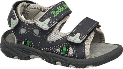 Bobbi-Shoes Zwarte peuter sandaal klittenband