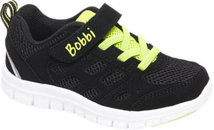 Bobbi-Shoes Zwarte sneaker lightweight