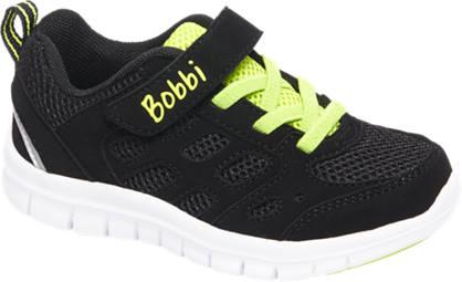 Bobbi-Shoes Zwarte sneaker lightweight