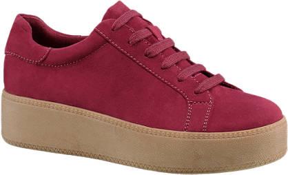 Graceland Bordó platform sneaker