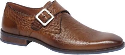 Borelli Bruine geklede schoen leer