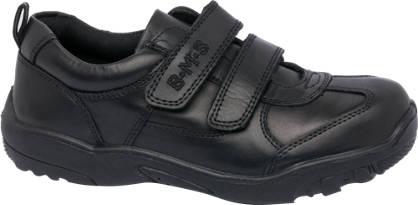 Twin Strap Sporty Leather Shoe
