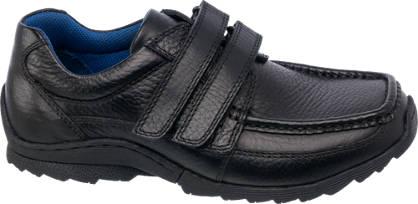 AM SHOE Boys Leather Twin Strap Shoe