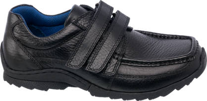 AM SHOE Boys Leather Twin Strap Shoe