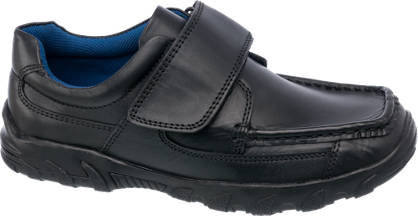 AM SHOE Boys Leather Single Strap Shoe