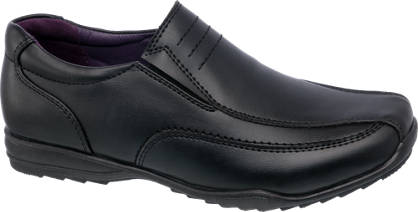 US Brass Boys Scuff Resistant Slip On Shoe