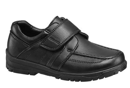 AGAXY Boys School Strap Shoes