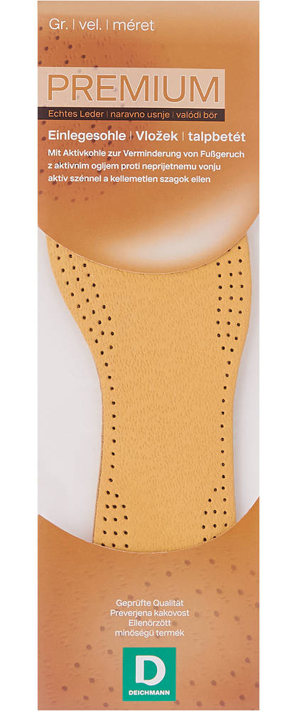 Bőr talpbetét (42)