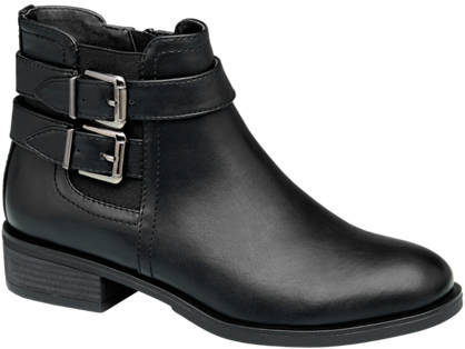 Graceland Buckled Chelsea Ankle Boots