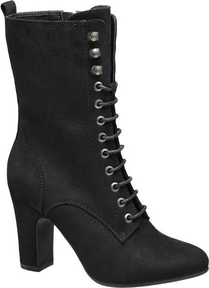 Catwalk Lace-up Ankle Boots