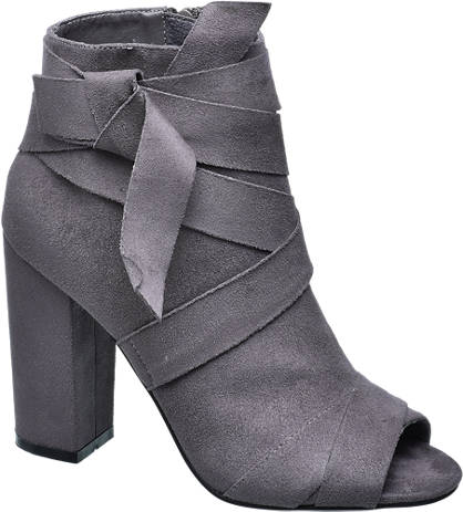 Catwalk Open Toe Ankle Boots