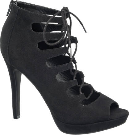 Catwalk Peep-Toe Ghillie High Fronts