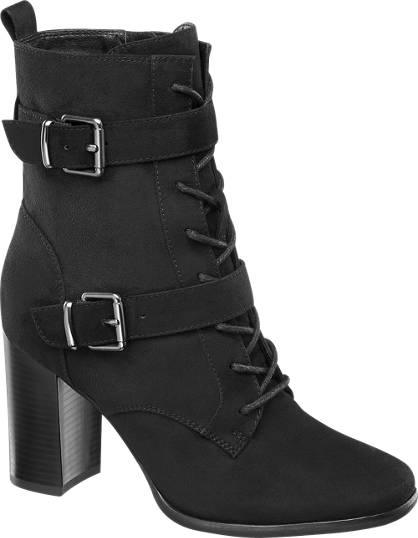 Catwalk Tall Lace-up Ankle Boots