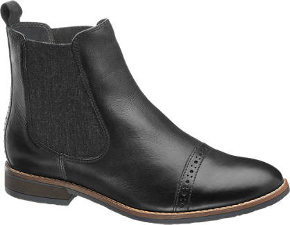 5th Avenue Chelsea Boots - Læder
