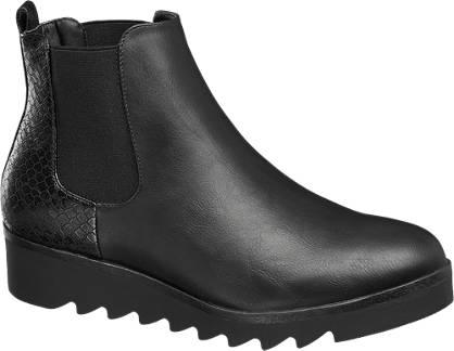 Catwalk Chelsea boot kígyómintával