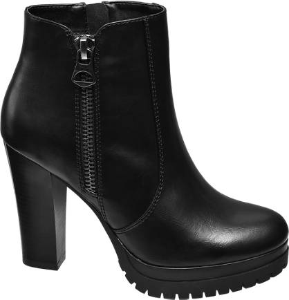 Catwalk Chunky Ankle Boots