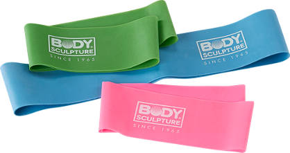 Body Sculpture Body Sculpture Resistance Band Set di 3 Unisex