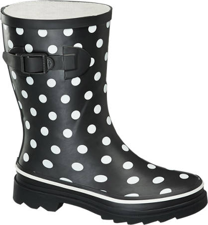 Cortina Polka Dot Calf Welly