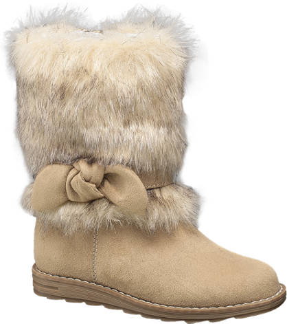 Cupcake Couture Fur Leg Boot