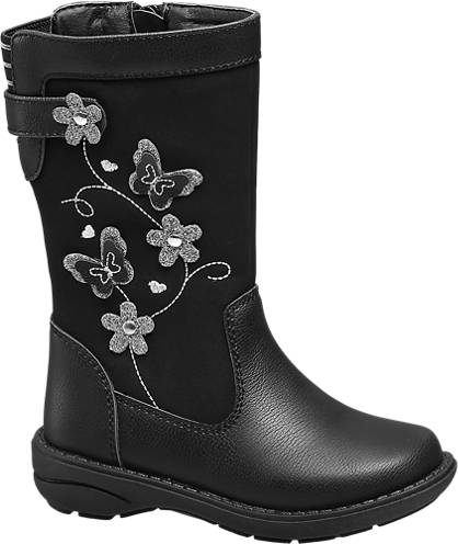 Cupcake Couture Flower Trim Boot