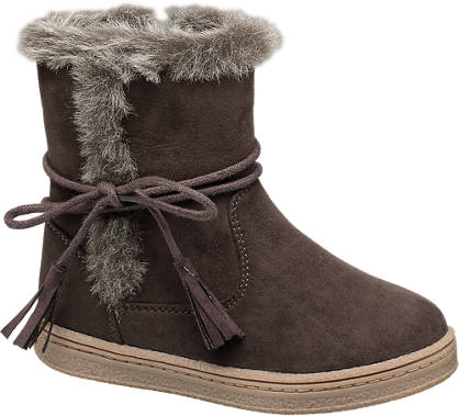 Cupcake Couture Fur Trim Boot