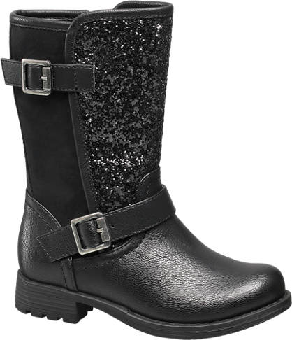 Cupcake Couture Glitter Buckle Boot