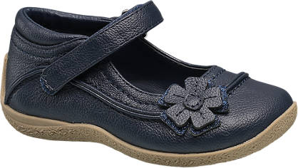 Cupcake Couture Flower Trim Bar Shoe