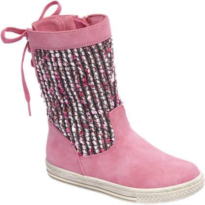 Cupcake Couture Roze laars gebreid