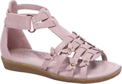 Cupcake Couture Roze sandaal klittenband