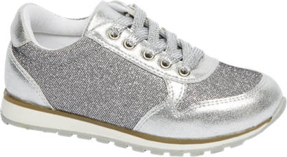 Cupcake Couture Sneaker met zilver glans look