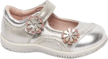 Cupcake Couture Zilveren ballerina metalic look