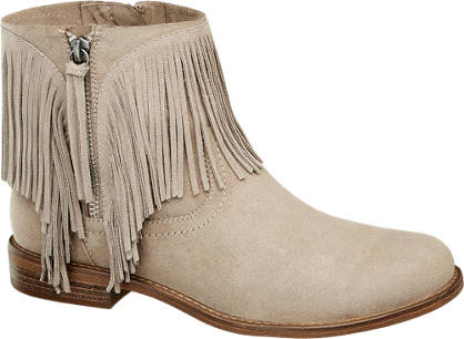 Graceland Boots mit Fransen