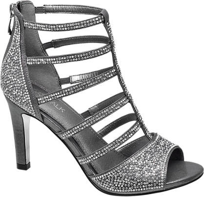 Catwalk High Heels mit Riemen