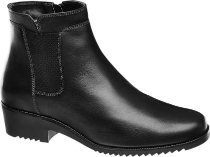 Medicus Leder Komfort Boots gefüttert, Weite: G