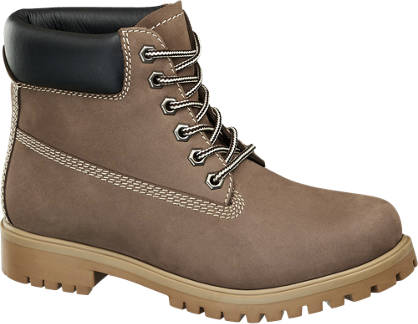 Highland Creek Leder Schnürboots