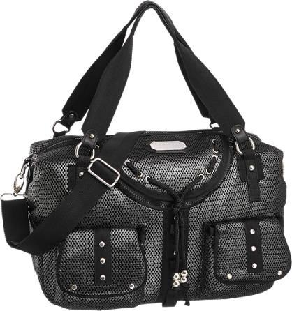 Catwalk Leinen Handtasche