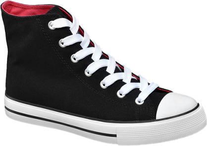 Vty Mid Cut Leinen Sneakers