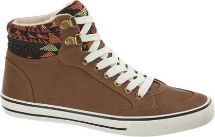 Graceland Mid Cut Sneakers gefüttert
