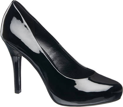 Graceland Pumps in Lack-Optik