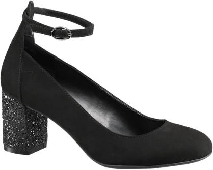 Graceland Pumps mit Fessel