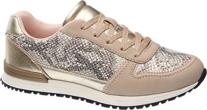 Graceland Sneakers im Metallic-Design