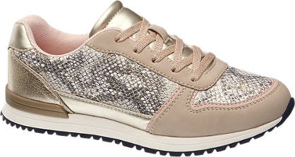 Graceland Sneakers im Metallic-Design