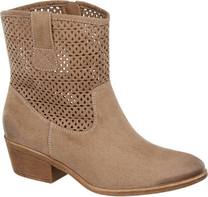 Graceland Western Boots mit Cut-Outs
