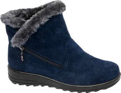 Easy Street Side Zip Ankle Boots