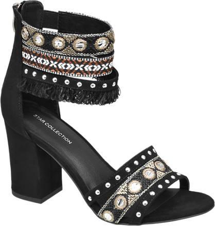 Star Collection Etno sandale s petom