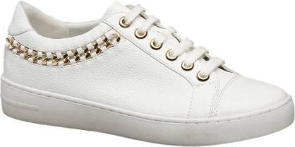 Graceland Fehér sneaker arany dísszel