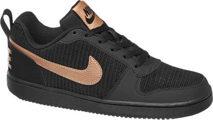 NIKE Fekete W COURT BOROUGH LOW PREM retro sneaker